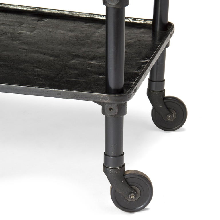 Cast 1920s Industrial Rolling Table by New Britain Machine Co. For Sale