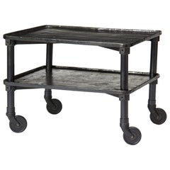 1920s Industrial Rolling Table by New Britain Machine Co.