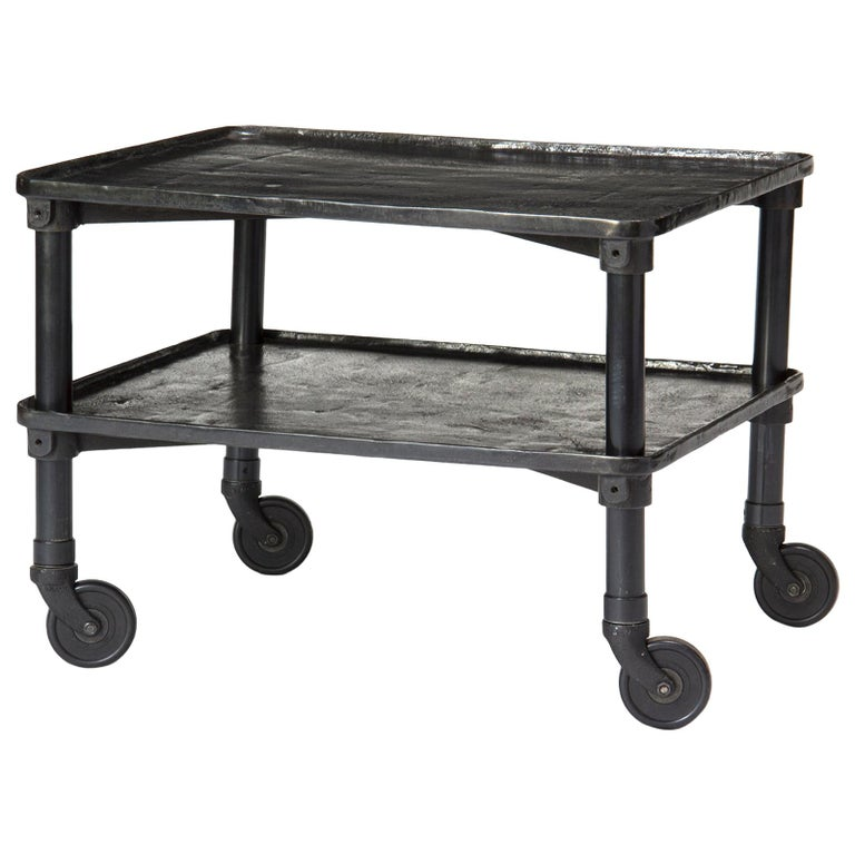 1920s Industrial Rolling Table by New Britain Machine Co. For Sale