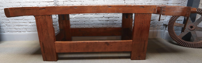 italian wood furniture. Modren Italian 1920s Italian Wooden Carpenteru0027s Bench With Three Working Vices For Sale At  1stdibs In Wood Furniture F
