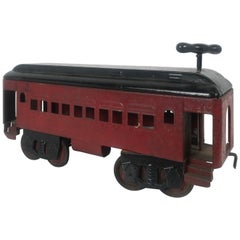 1920s Keystone Pullman Ride on Train / Trolly, Pressed Steel Toy