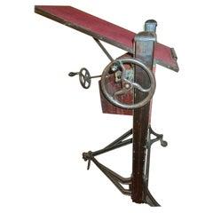 1920s Large Adjustable Camera Stand by Ansco- AGFA Company Binghampton, NY