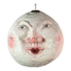 1920s 'Man In The Moon' Papier Mâché Stage Prop