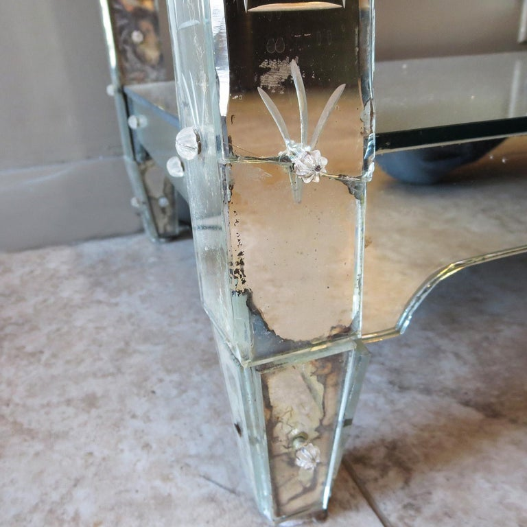 1920s Mirrored Vanity from the Bette Davis Hollywood Estate For Sale 4