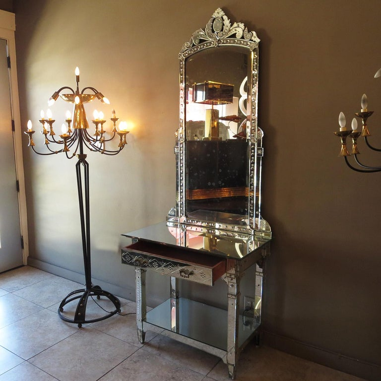 1920s Mirrored Vanity from the Bette Davis Hollywood Estate For Sale 6
