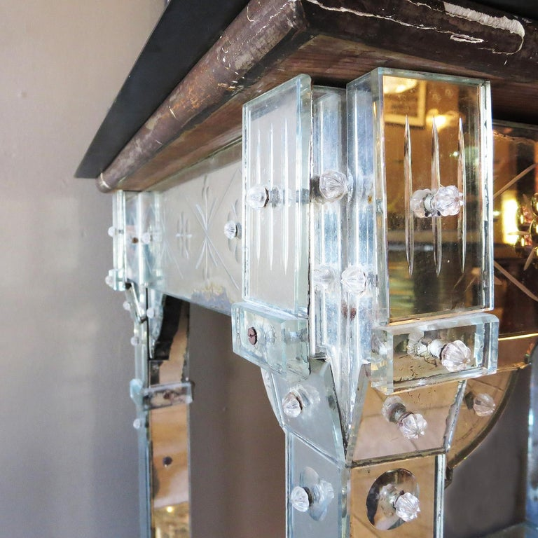 American 1920s Mirrored Vanity from the Bette Davis Hollywood Estate For Sale