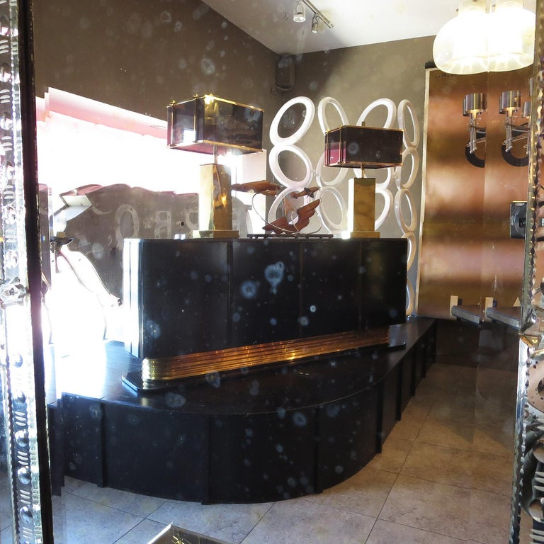 1920s Mirrored Vanity from the Bette Davis Hollywood Estate For Sale 3