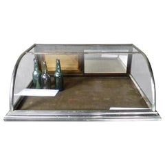 1920s Nickel-Plated Countertop Display Case by Dominion Showcase