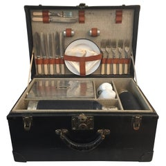 1920s Novelty Picnic Set Trunk