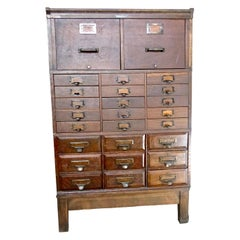 Arts and Crafts Apothecary Cabinets