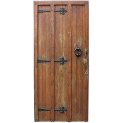 1920s Oak Exterior Front Door