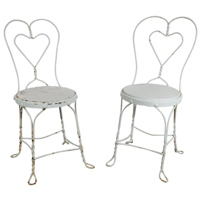 white wrought iron furniture. 1920s Painted White Wrought Iron Chairs, Property Of The Beales Grey Gardens For Sale Furniture O