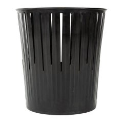 1920s Patinated Steel Waste Basket by Erie Art Metal