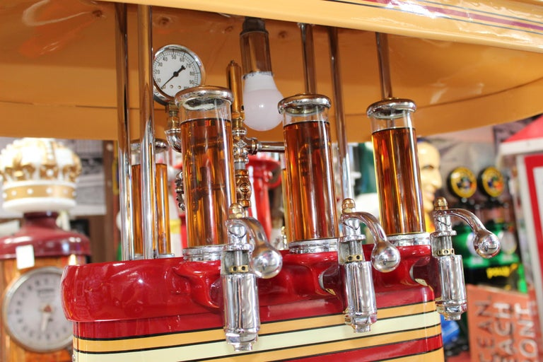 1920s Premier Oil Fountain Model 62 Island Oil Dispenser For Sale 5