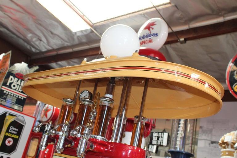 1920s Premier Oil Fountain Model 62 Island Oil Dispenser For Sale 6