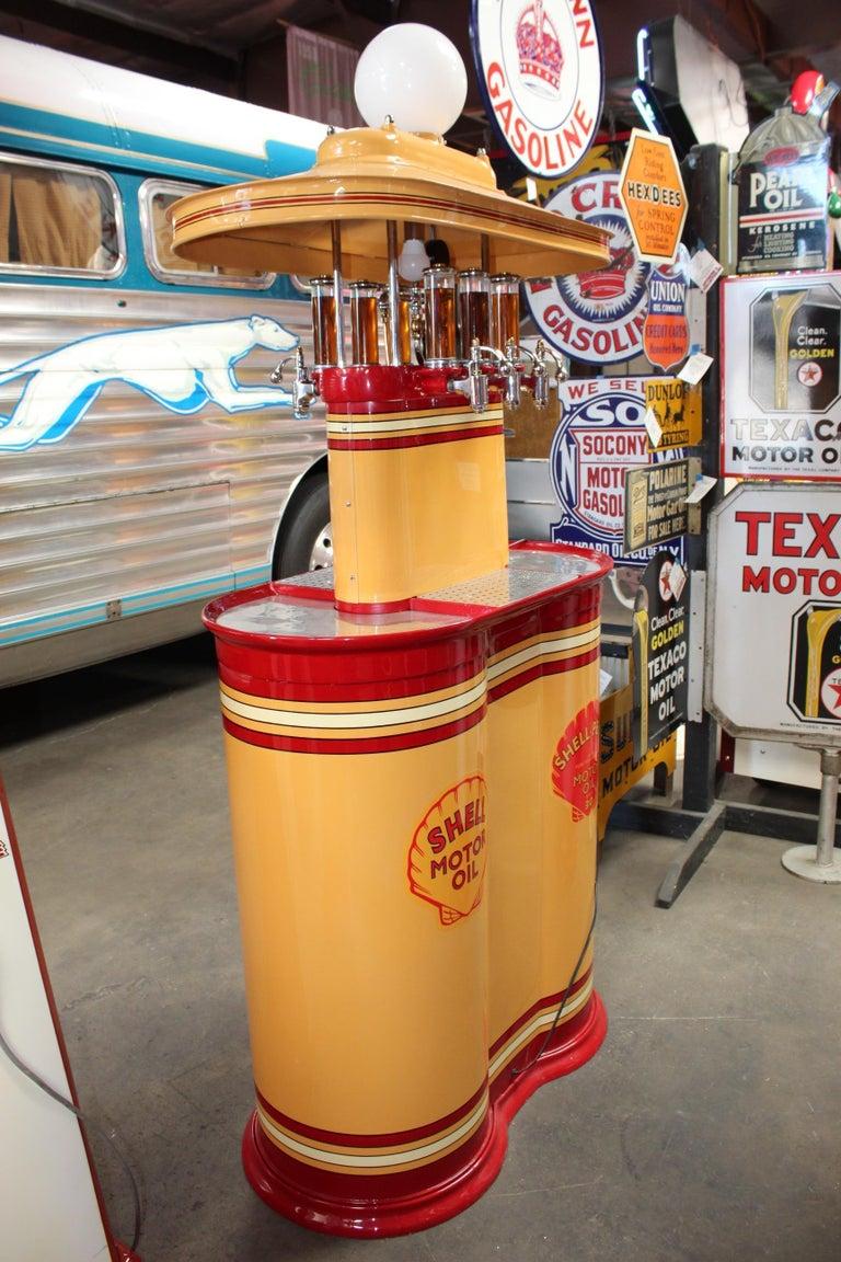 1920s Premier Oil Fountain Model 62 Island Oil Dispenser For Sale 7