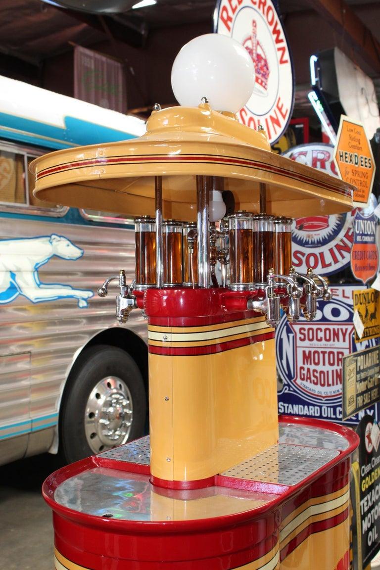 1920s Premier Oil Fountain Model 62 Island Oil Dispenser For Sale 9