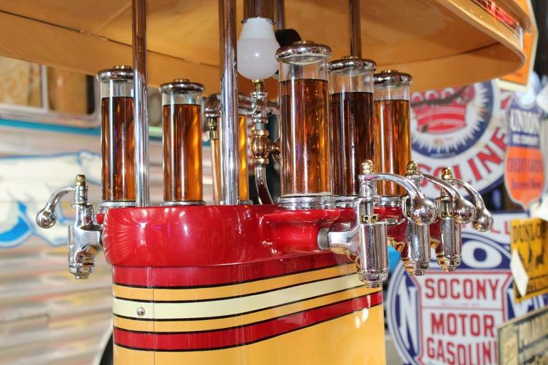 1920s Premier Oil Fountain Model 62 Island Oil Dispenser For Sale 10