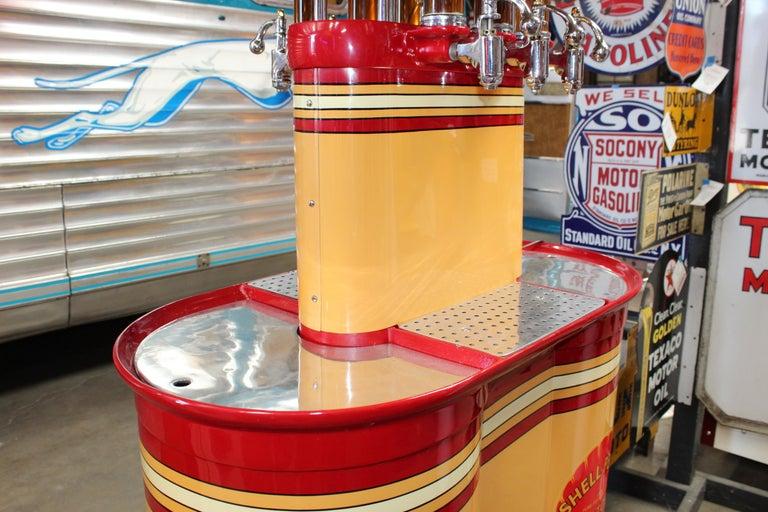 1920s Premier Oil Fountain Model 62 Island Oil Dispenser For Sale 11