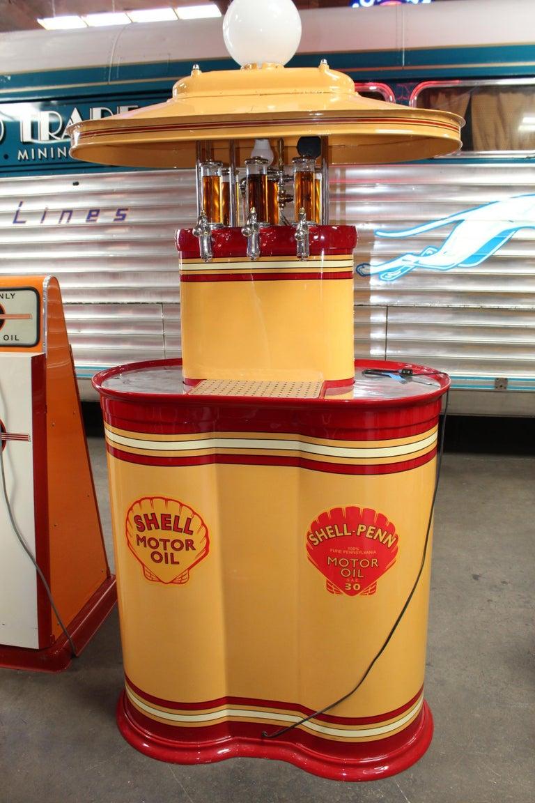 1920s Premier Oil Fountain Model 62 Island Oil Dispenser For Sale 12