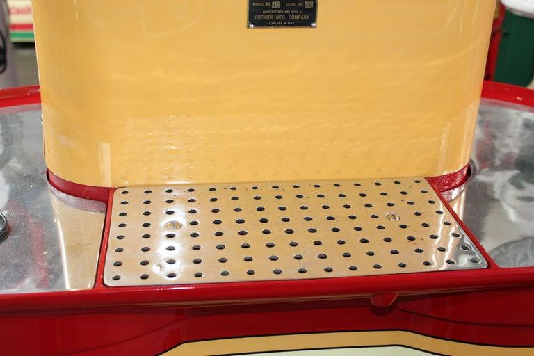 1920s Premier Oil Fountain Model 62 Island Oil Dispenser For Sale 1