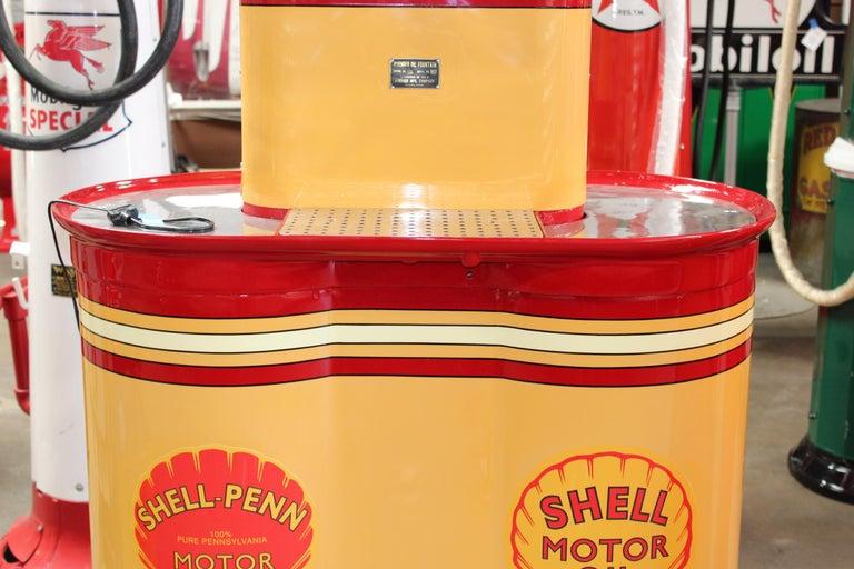 1920s Premier Oil Fountain Model 62 Island Oil Dispenser For Sale 2