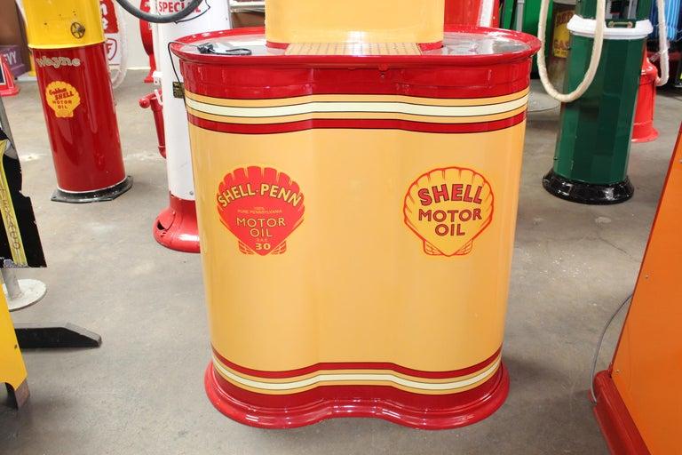 1920s Premier Oil Fountain Model 62 Island Oil Dispenser For Sale 3