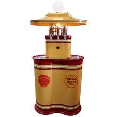 1920s Premier Oil Fountain Model 62 Island Oil Dispenser