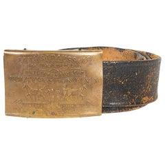1920s Rare Levi Strauss & Co. Belt Buckle