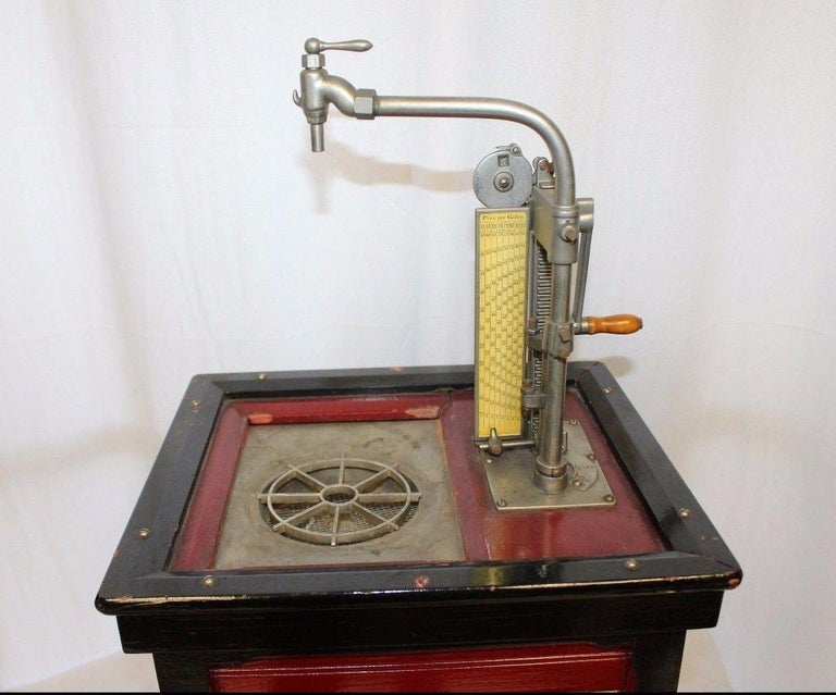Other 1920s Salesman Sample National Store Supply Oil Pump Dispenser For Sale