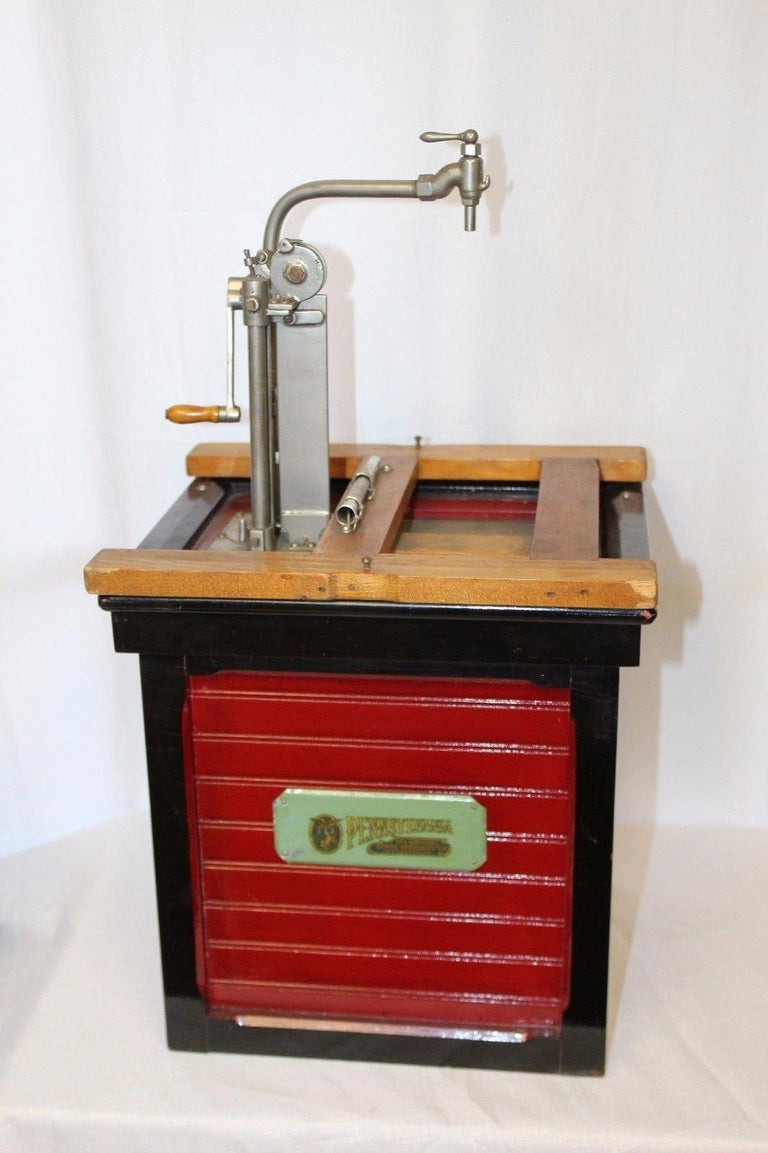 1920s Salesman Sample National Store Supply Oil Pump Dispenser For Sale 2