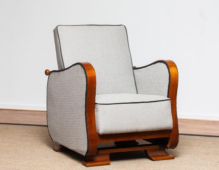 1920s, Scandinavian Art Deco Armchair / Lounge Chair
