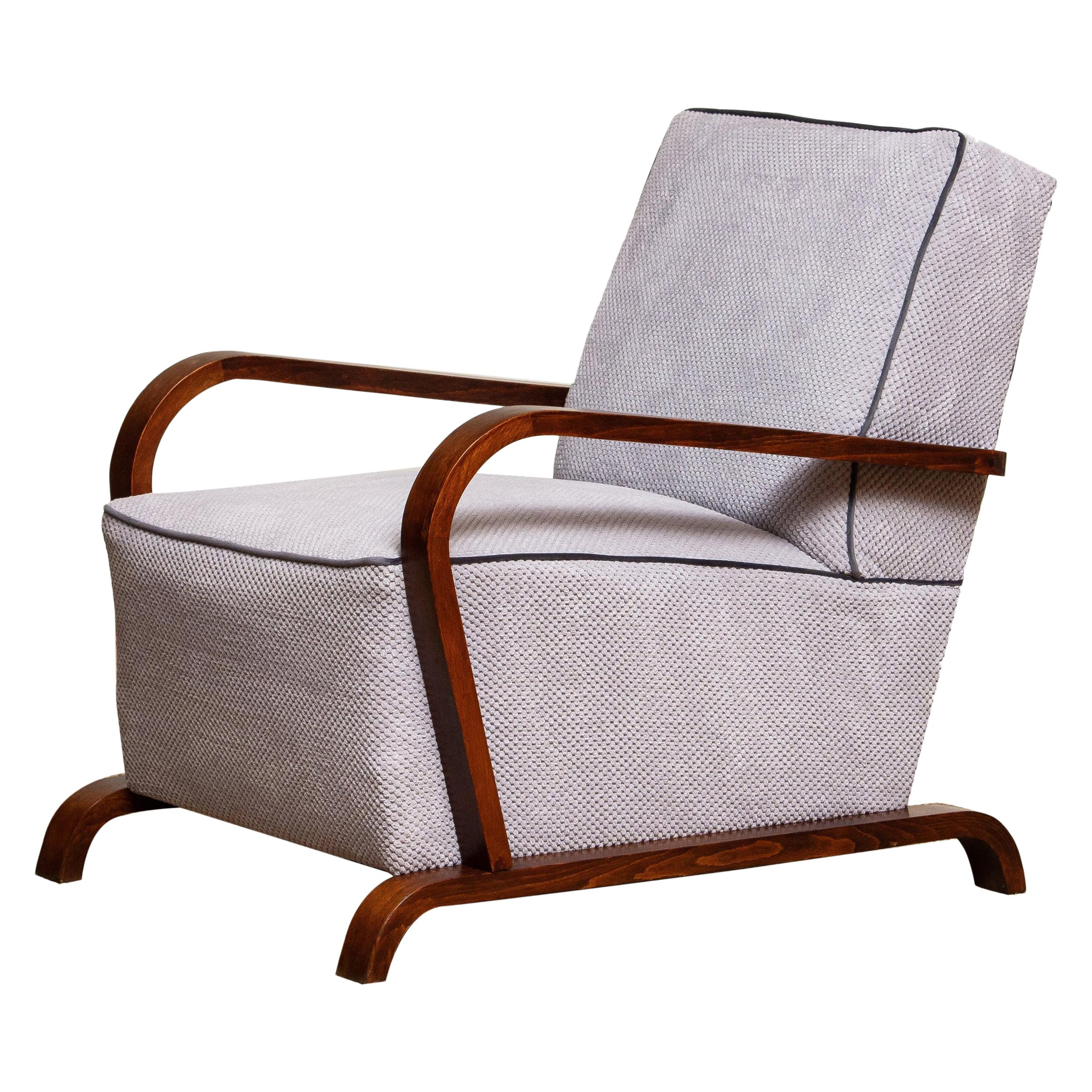 1920s, Scandinavian Art Deco Armchair / Lounge / Club Chairs from Sweden 1
