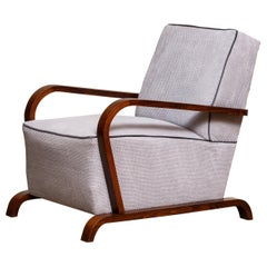 1920s, Scandinavian Art Deco Armchair / Lounge / Club Chairs from Sweden 2