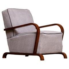 1920s, Scandinavian Art Deco Armchair / Lounge / Club Chairs from Sweden