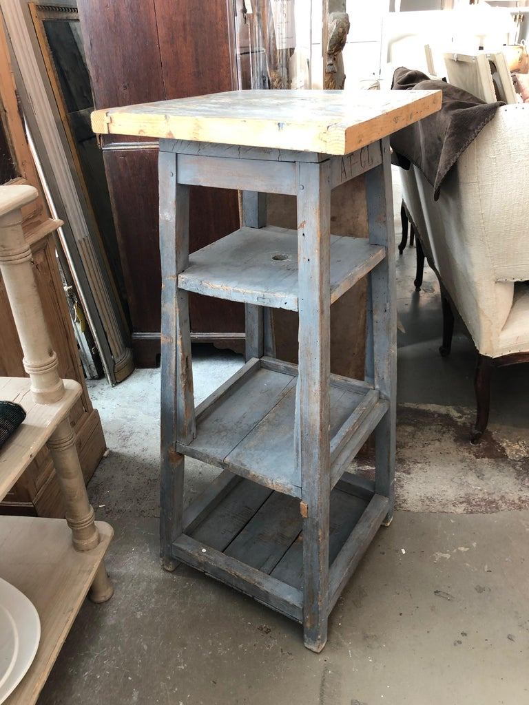 19th Century 1920s Sculpture Stand, France For Sale