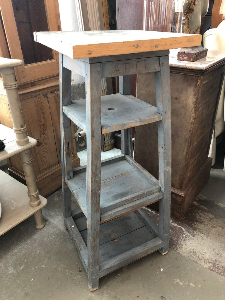 1920s Sculpture Stand, France For Sale 1