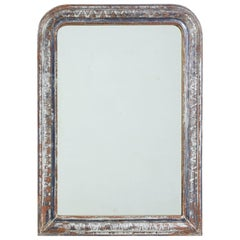1920s Silver Gilt Patterned Wall Mirror
