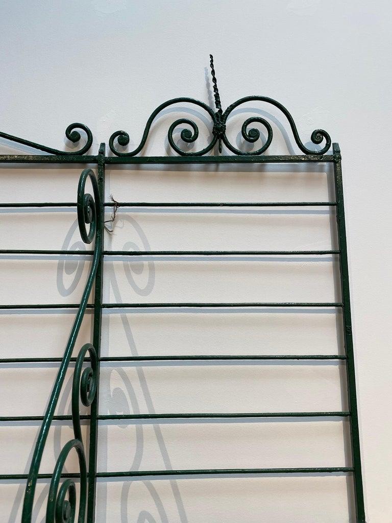 1920s Spanish Bronze and Iron Three Shelf Bakers Rack For Sale 10