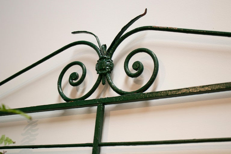1920s Spanish Bronze and Iron Three Shelf Bakers Rack For Sale 1