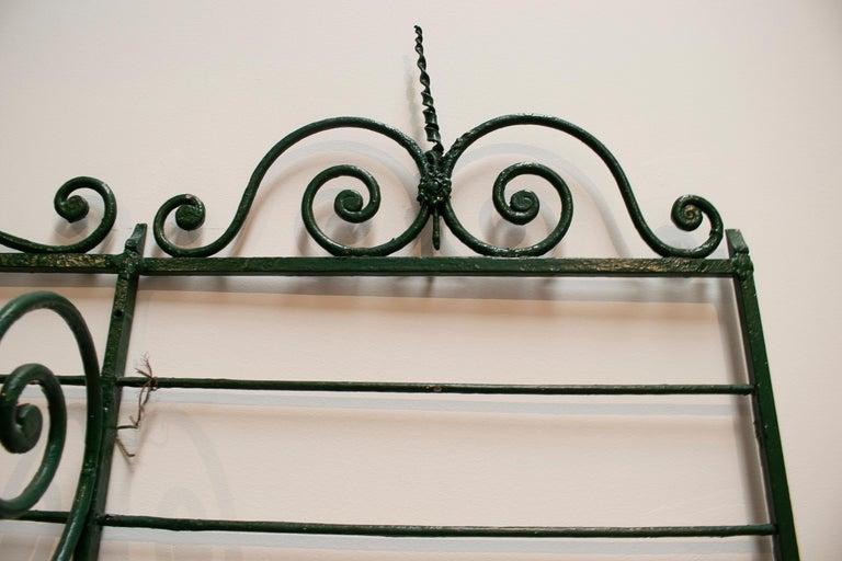 1920s Spanish Bronze and Iron Three Shelf Bakers Rack For Sale 4