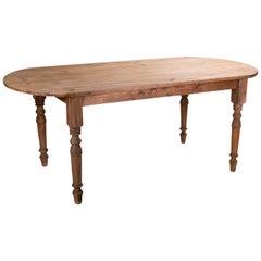 1920s Spanish Pinewood Rustic Dinning Table