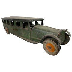 "1920s Steelcraft ""inter-city-bus"" Antique Pressed Steel Truck"