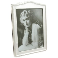 1920s Sterling Silver Photograph Frame