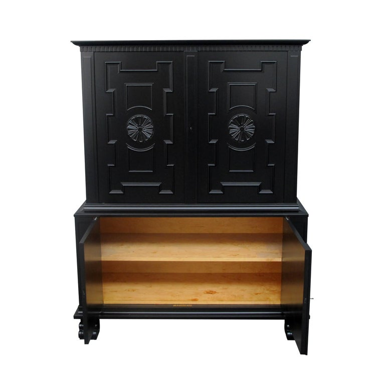 """Other 1920s Swedish """"Roma"""" Cabinet by Axel Einar Hjorth for S. Möbelfabriken Bodafors For Sale"""