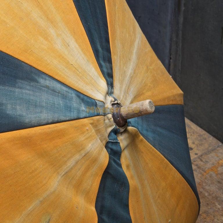 1920s Umbrella Parasol Advertising Mercantile Graphic Design Newport Beach Patio For Sale 2