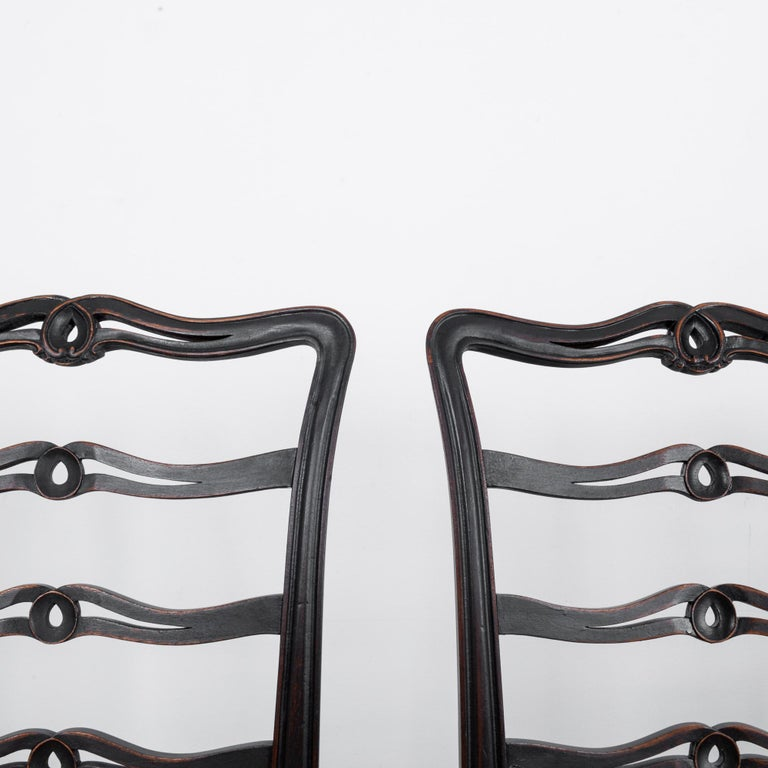 1920s Upholstered Dining Chairs, Set of Six 1