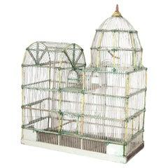 1920s Wire Bird Cage