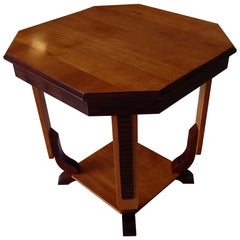1920s Squaire Two Tone Table