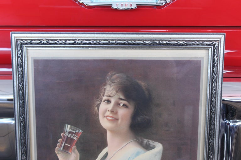 1923 January Coca-Cola Calendar Paper Advertising For Sale 9